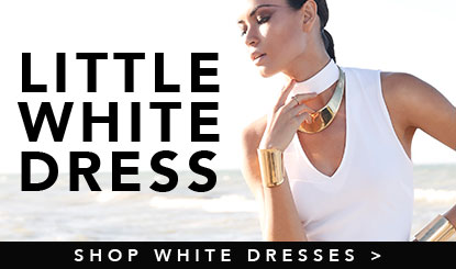 Shop little white summer dresses
