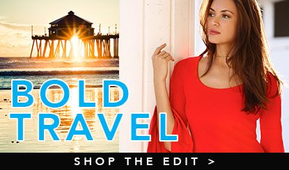 Shop travel collection in bold new colors