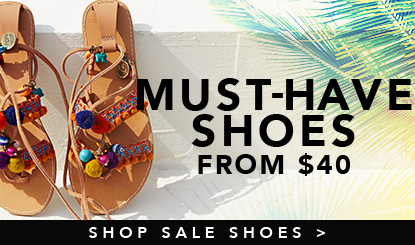 shoes on sale from $40
