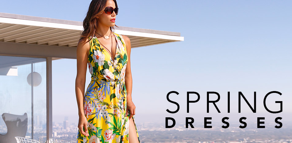 Shop new spring dresses