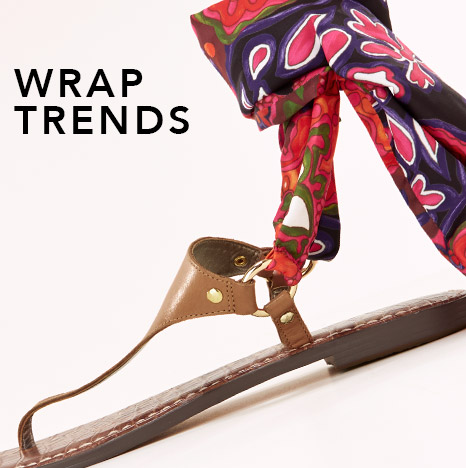 shop the must-have wrap sandal