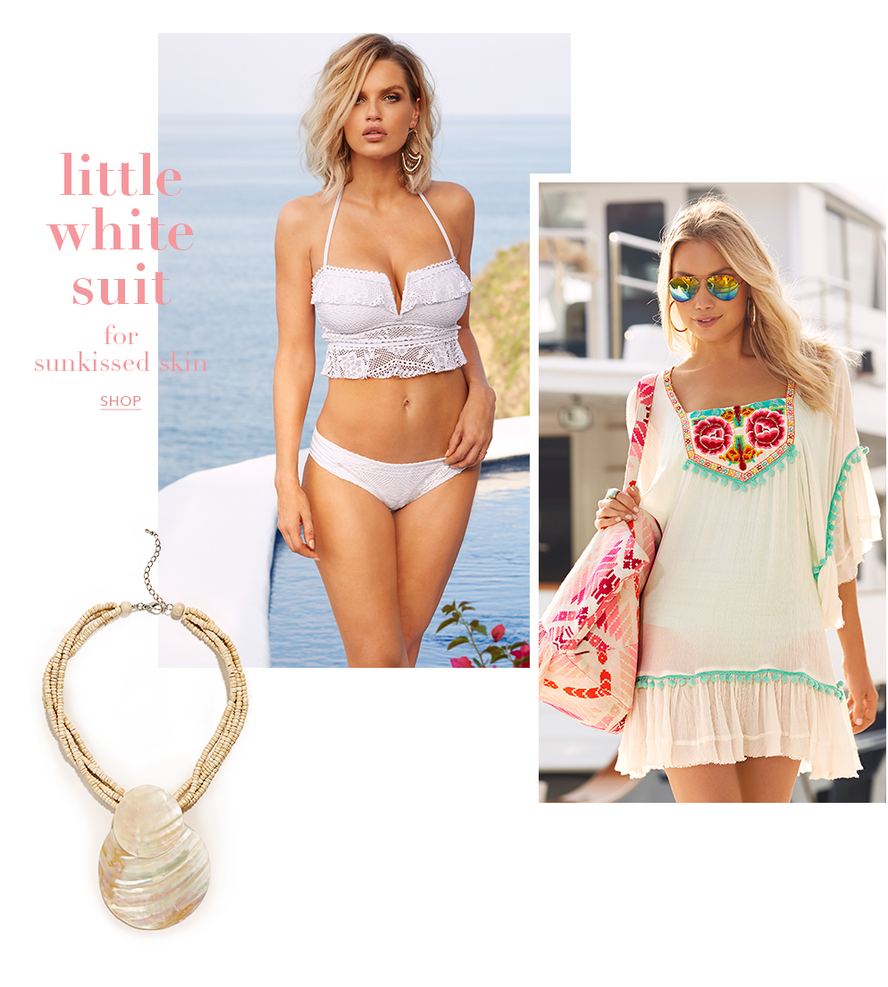 Shop white hot spring styles