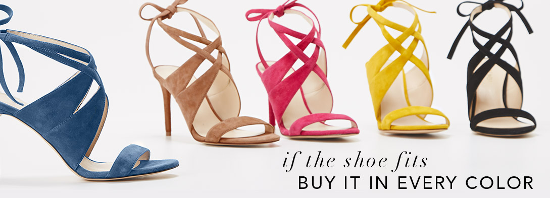 Shop the sexy lace-up heel in every color