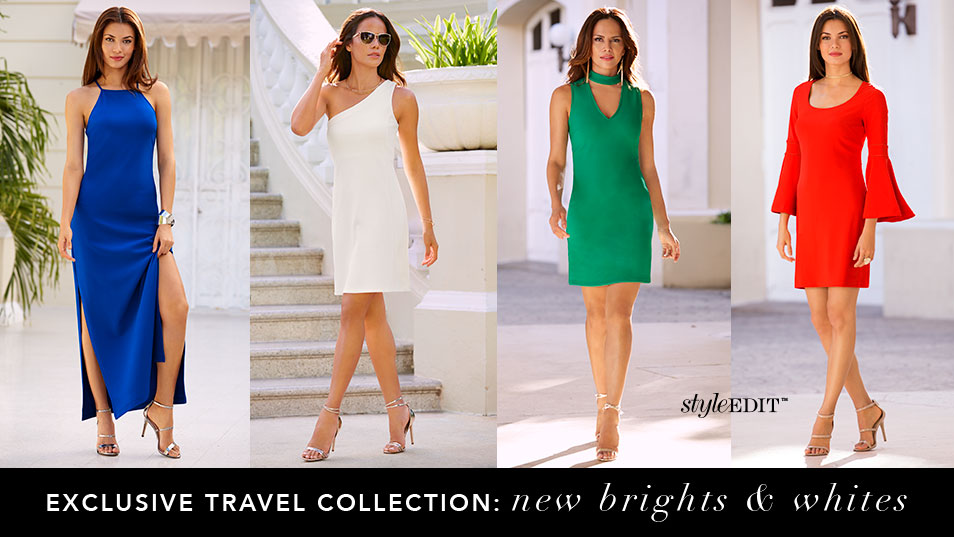Shop summer travel in bright colors