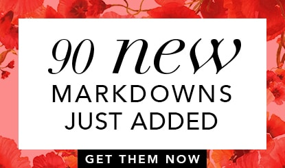 New markdowns/just reduced added