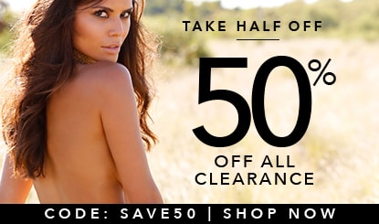 Take half off 50% off all clearance