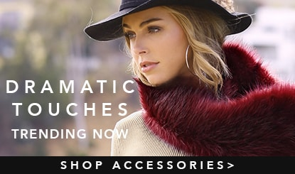 dramatic touches- trending now