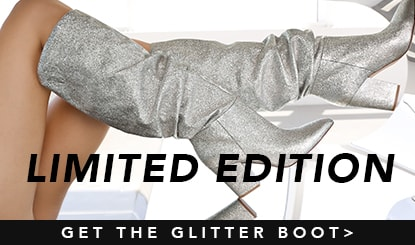 limited edition- get the glitter boot