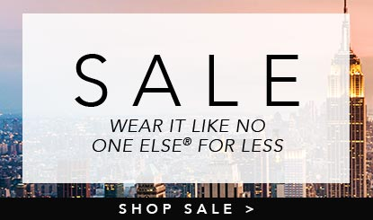 sale wear it like no one else