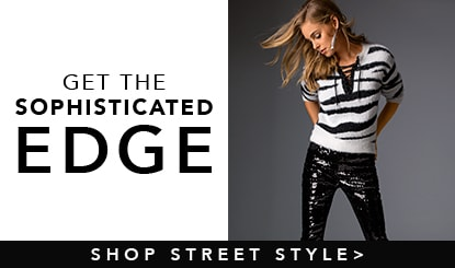 get the sophisticated edge- shop street style