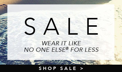 new sale- wear it like no one else