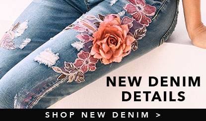 new denim details