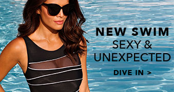 New Swim Sexy & Unexpected