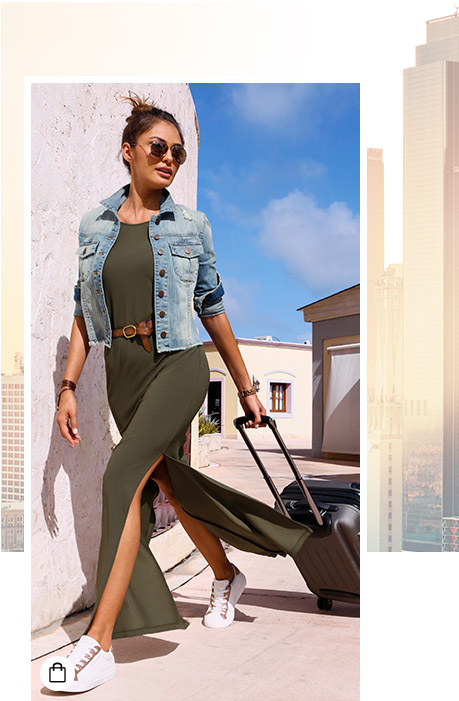 Sexy clothes to travel in