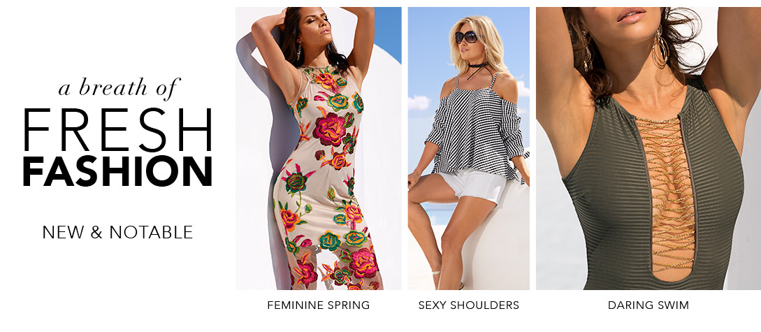 Shop new spring must haves